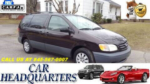 2002 Toyota Sienna for sale at CAR  HEADQUARTERS in New Windsor NY