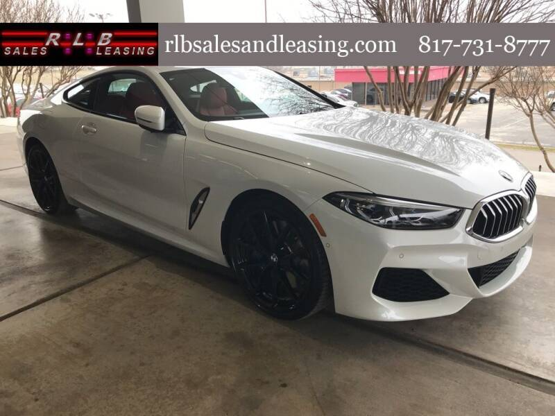 2020 BMW 8 Series for sale at RLB Sales and Leasing in Fort Worth TX