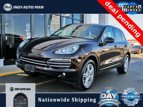 2014 Porsche Cayenne for sale at INDY AUTO MAN in Indianapolis IN