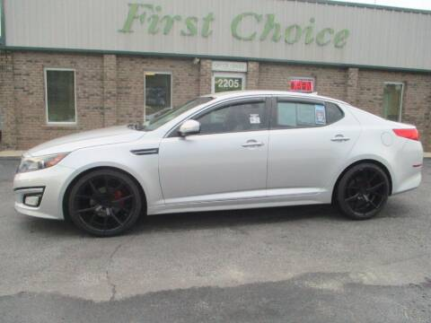 2015 Kia Optima for sale at First Choice Auto in Greenville SC