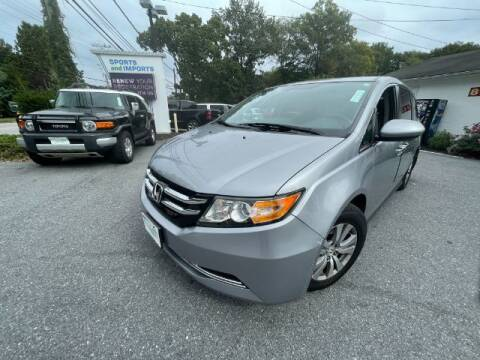 2017 Honda Odyssey for sale at Sports & Imports in Pasadena MD