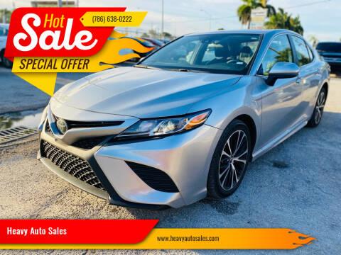 2019 Toyota Camry for sale at Heavy Auto Sales in Miami FL