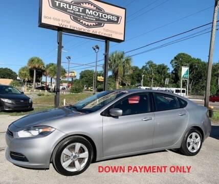 2015 Dodge Dart for sale at Trust Motors in Jacksonville FL
