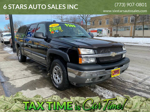 2005 Chevrolet Silverado 1500 for sale at 6 STARS AUTO SALES INC in Chicago IL