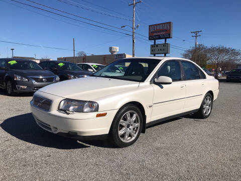2002 Volvo S80 for sale at Autohaus of Greensboro in Greensboro NC