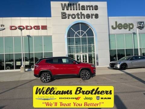 2018 Jeep Compass for sale at Williams Brothers - Pre-Owned Monroe in Monroe MI