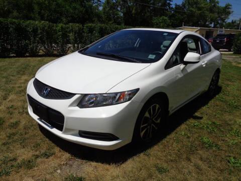 2013 Honda Civic for sale at Triangle Auto Sales in Elgin IL