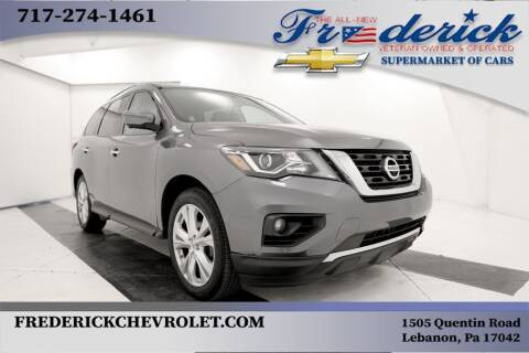 2018 Nissan Pathfinder for sale at Lancaster Pre-Owned in Lancaster PA