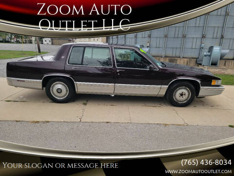 1993 Cadillac DeVille for sale at Zoom Auto Outlet LLC in Thorntown IN