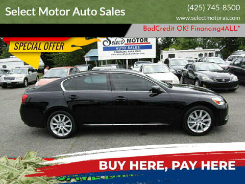 2007 Lexus GS 350 for sale at Select Motor Auto Sales in Lynnwood WA