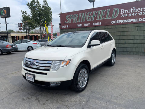 2008 Ford Edge for sale at SPRINGFIELD BROTHERS LLC in Fullerton CA