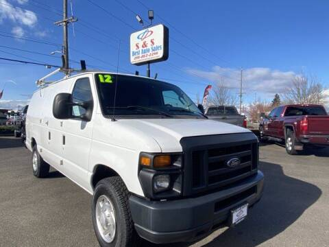 2012 Ford E-Series Cargo for sale at S&S Best Auto Sales LLC in Auburn WA