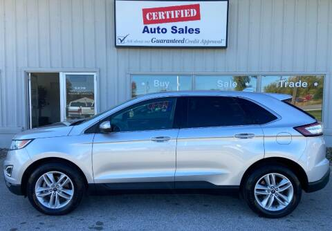 2016 Ford Edge for sale at Certified Auto Sales in Des Moines IA