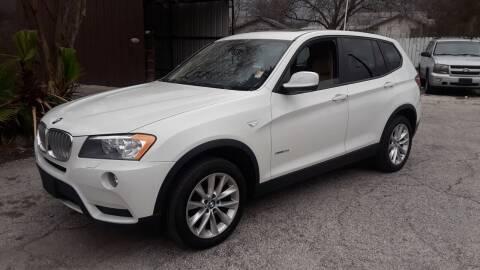 2014 BMW X3 for sale at RICKY'S AUTOPLEX in San Antonio TX