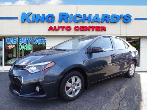 2016 Toyota Corolla for sale at KING RICHARDS AUTO CENTER in East Providence RI