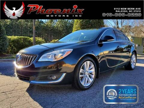 2016 Buick Regal for sale at Phoenix Motors Inc in Raleigh NC