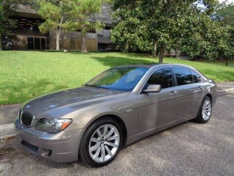 2008 BMW 7 Series for sale at Houston Auto Preowned in Houston TX