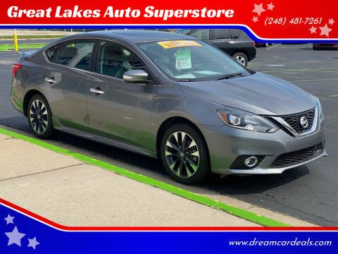 2017 Nissan Sentra for sale at Great Lakes Auto Superstore 2 in Waterford MI