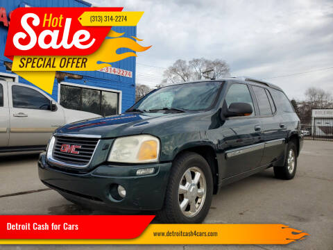 2004 GMC Envoy XUV for sale at Detroit Cash for Cars in Warren MI