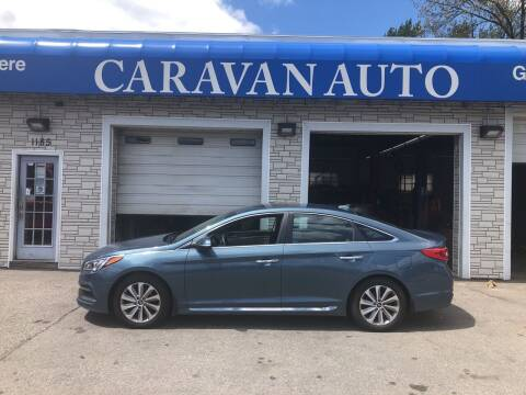 2016 Hyundai Sonata for sale at Caravan Auto in Cranston RI