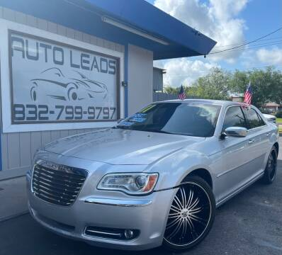 2011 Chrysler 300 for sale at AUTO LEADS in Pasadena TX
