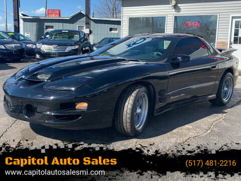 1999 Pontiac Firebird for sale at Capitol Auto Sales in Lansing MI
