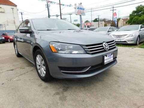 2015 Volkswagen Passat for sale at AMD AUTO in San Antonio TX