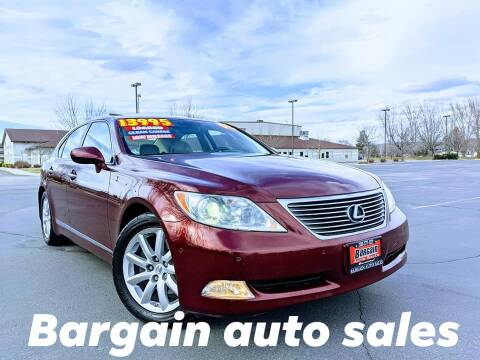 2008 Lexus LS 460 for sale at Bargain Auto Sales LLC in Garden City ID