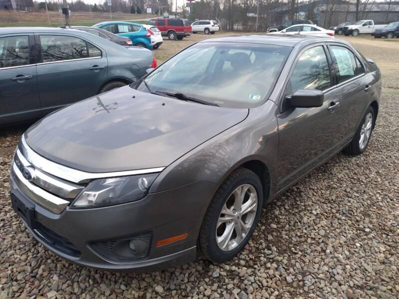 2012 Ford Fusion for sale at Seneca Motors, Inc. (Seneca PA) in Seneca PA