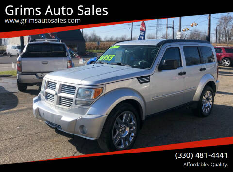 2010 Dodge Nitro for sale at Grims Auto Sales in North Lawrence OH
