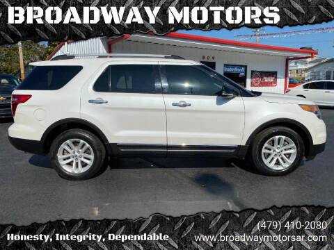 2014 Ford Explorer for sale at BROADWAY MOTORS in Van Buren AR