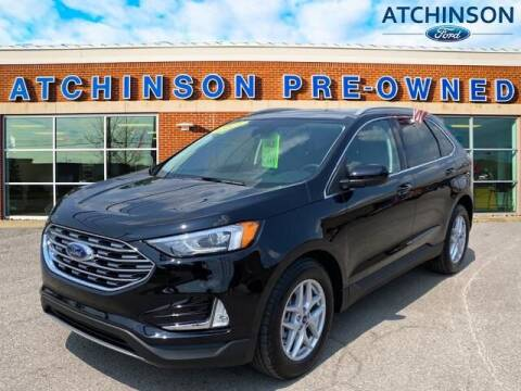 2021 Ford Edge for sale at Atchinson Ford Sales Inc in Belleville MI