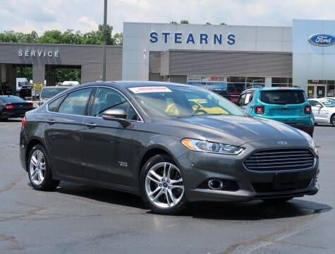 2015 Ford Fusion Energi for sale at Stearns Ford in Burlington NC
