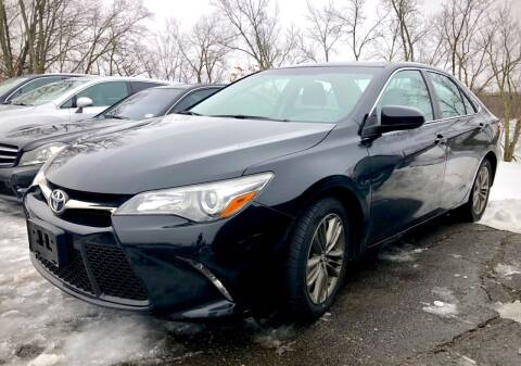 2015 Toyota Camry for sale at Top Line Import of Methuen in Methuen MA