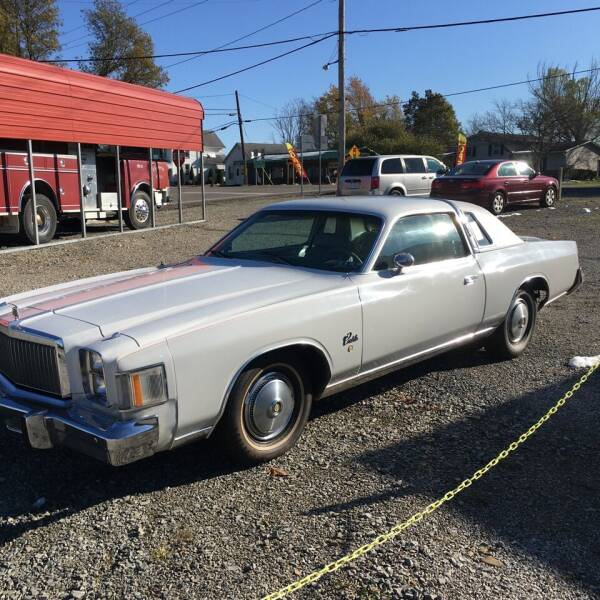 1979 Chrysler Cordoba for sale at Simon Automotive in East Palestine OH