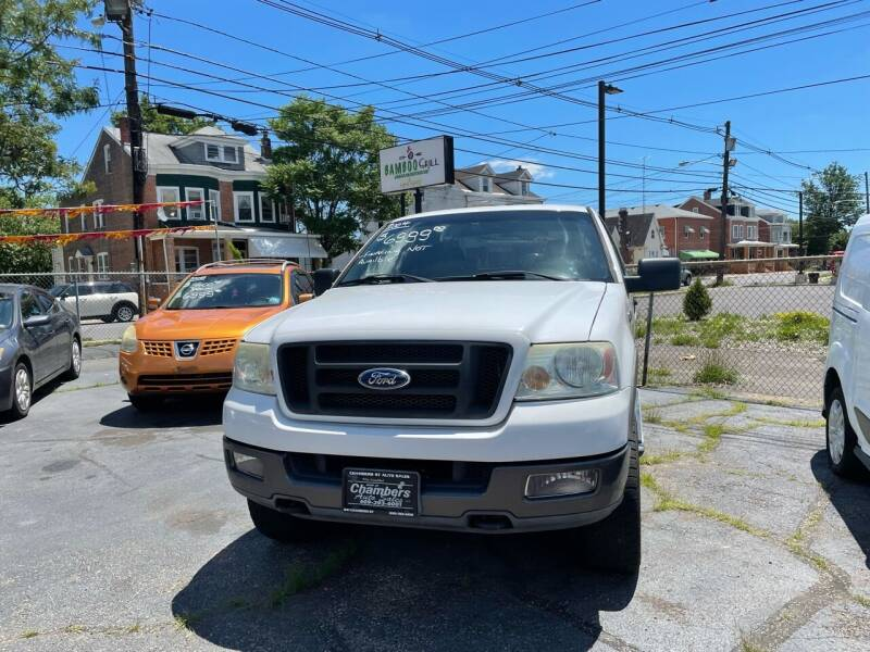 2004 Ford F-150 for sale at Chambers Auto Sales LLC in Trenton NJ