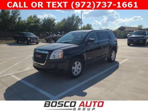 2016 GMC Terrain for sale at Bosco Auto Group in Flower Mound TX