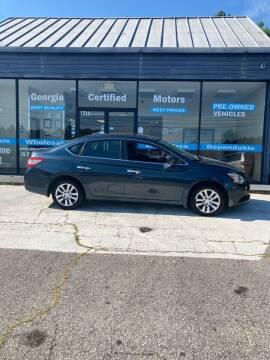2014 Nissan Sentra for sale at Georgia Certified Motors in Stockbridge GA