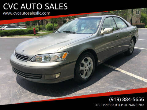 2001 Lexus ES 300 for sale at CVC AUTO SALES in Durham NC