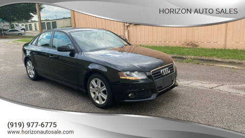 2011 Audi A4 for sale at Horizon Auto Sales in Raleigh NC
