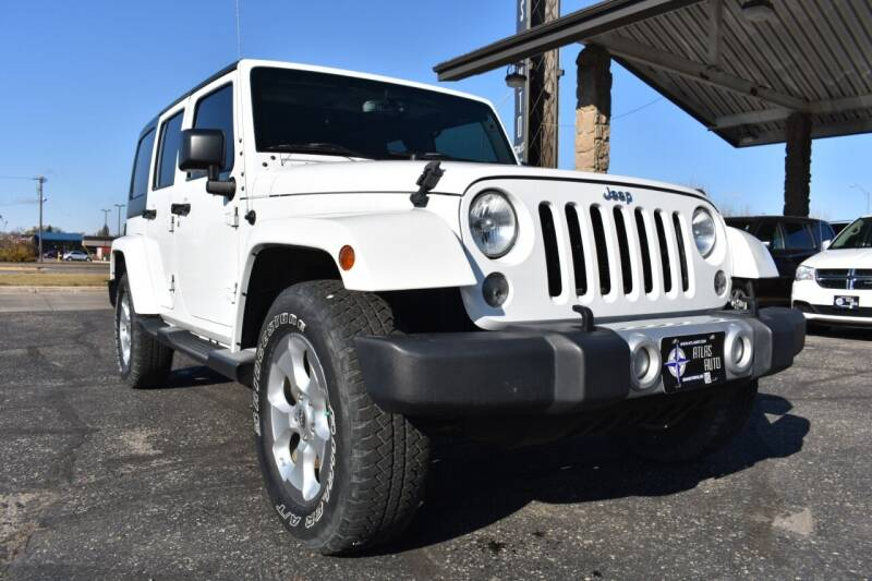 2015 Jeep Wrangler Unlimited for sale at Atlas Auto in Grand Forks ND