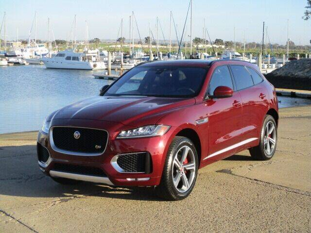 2017 Jaguar F-PACE for sale at Convoy Motors LLC in National City CA