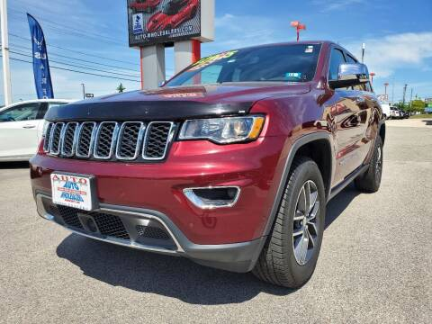 2018 Jeep Grand Cherokee for sale at Auto Wholesalers Of Hooksett in Hooksett NH