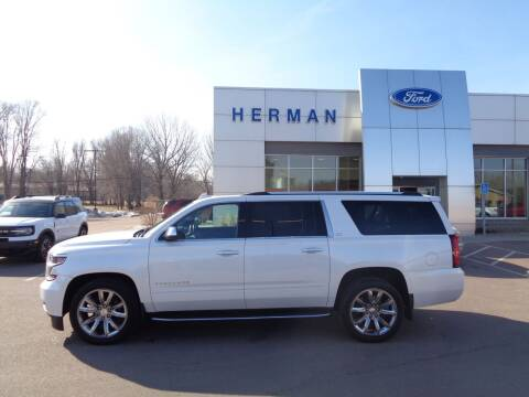 2016 Chevrolet Suburban for sale at Herman Motors in Luverne MN