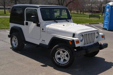 2006 Jeep Wrangler for sale at GLADSTONE AUTO SALES    GUARANTEED CREDIT APPROVAL in Gladstone MO
