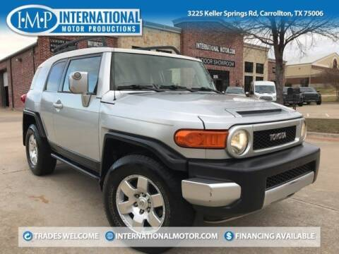2007 Toyota FJ Cruiser for sale at International Motor Productions in Carrollton TX