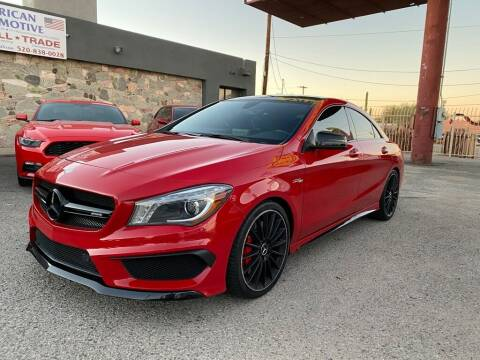 2015 Mercedes-Benz CLA for sale at American Automotive , LLC in Tucson AZ