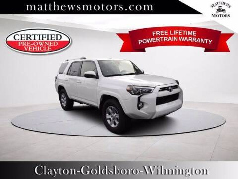 2020 Toyota 4Runner for sale at Auto Finance of Raleigh in Raleigh NC
