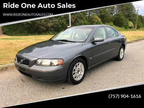2004 Volvo S60 for sale at Ride One Auto Sales in Norfolk VA