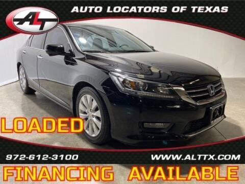 2014 Honda Accord for sale at AUTO LOCATORS OF TEXAS in Plano TX